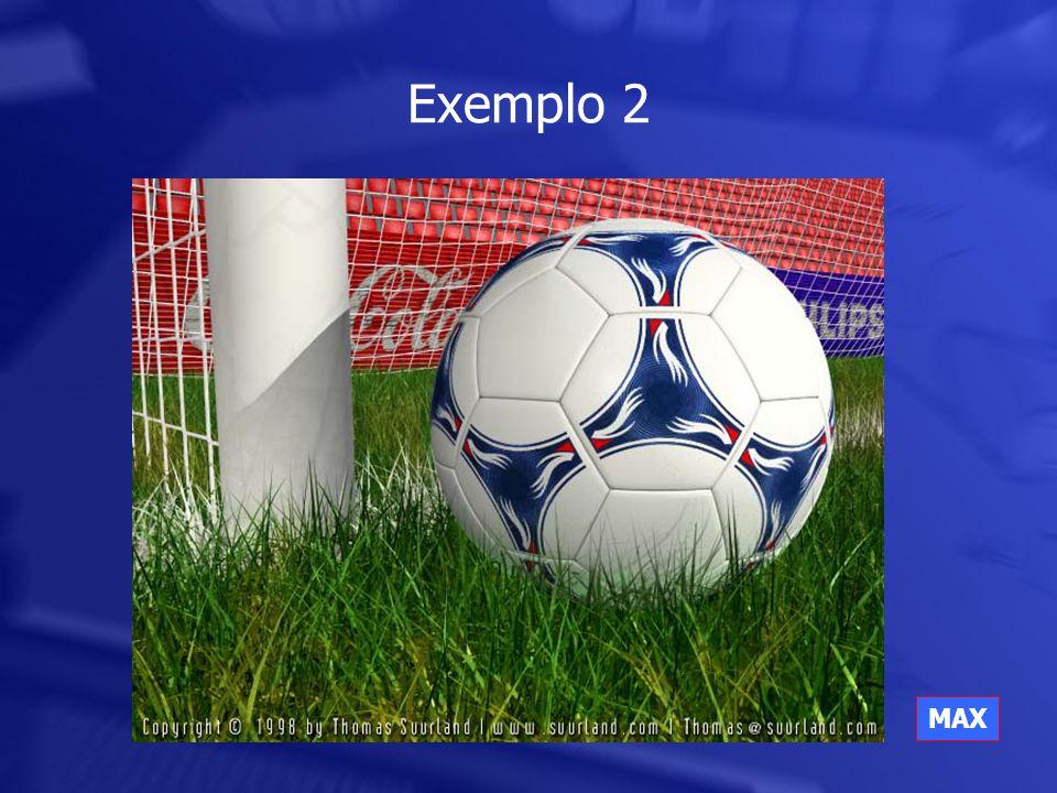 Exemplo 2 MAX