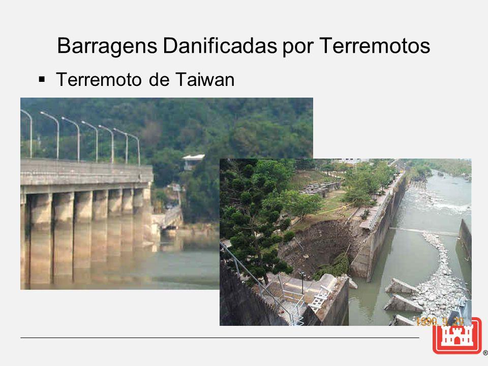  Terremoto de Taiwan Barragens Danificadas por Terremotos