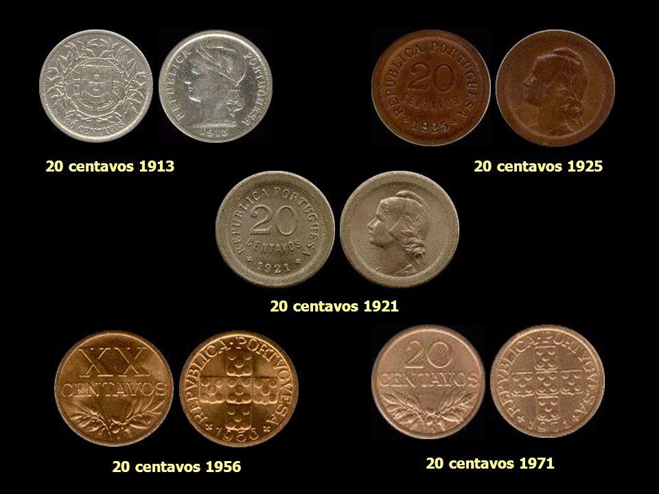 10 centavos 1915 10 centavos 1921 10 centavos 1940 10 centavos 196810 centavos 1969
