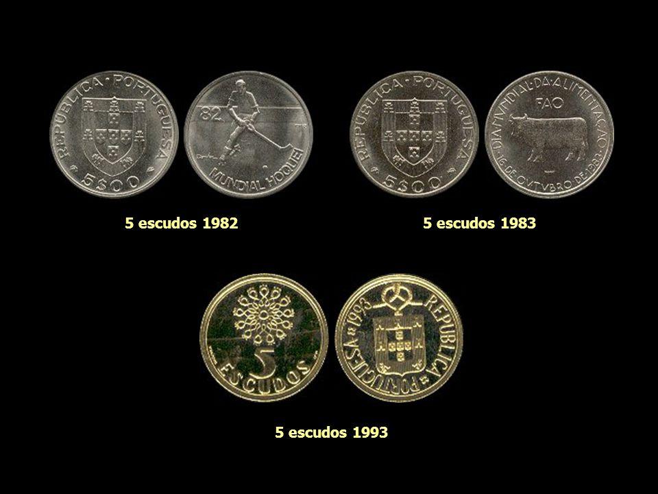 5 escudos 1943 5 escudos 1977 5 escudos 1964 5 escudos 1960