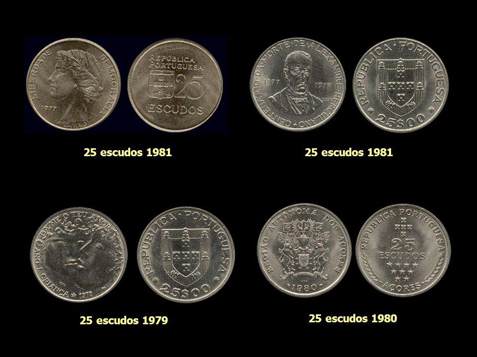 20 escudos 1966 20 escudos 1993 20 escudos 1953 20 escudos 1960