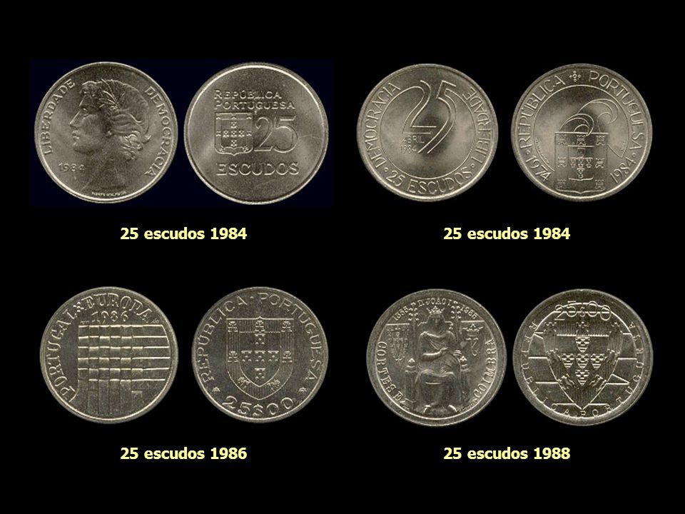 25 escudos 1981 25 escudos 1983 25 escudos 1982 25 escudos 1981