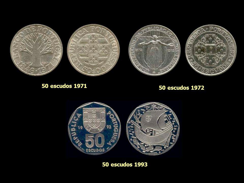 50 escudos 1968 50 escudos 1969