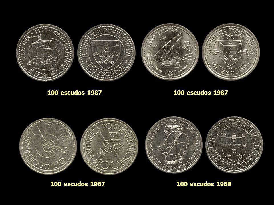 100 escudos 1985 100 escudos 1983100 escudos 1985 100 escudos 1986