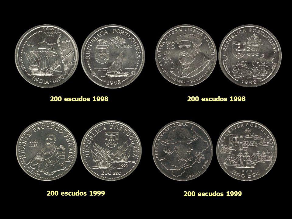 200 escudos 1998 200 escudos 1997 200 escudos 1998