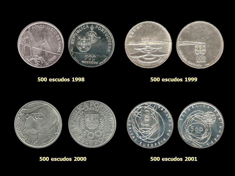 500 escudos 1983500 escudos 1995 500 escudos 1996500 escudos 1997