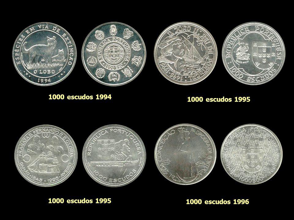 1000 escudos 1983 1000 escudos 1981 1000 escudos 19911000 escudos 1994
