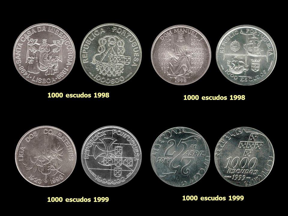 1000 escudos 1997 1000 escudos 1998