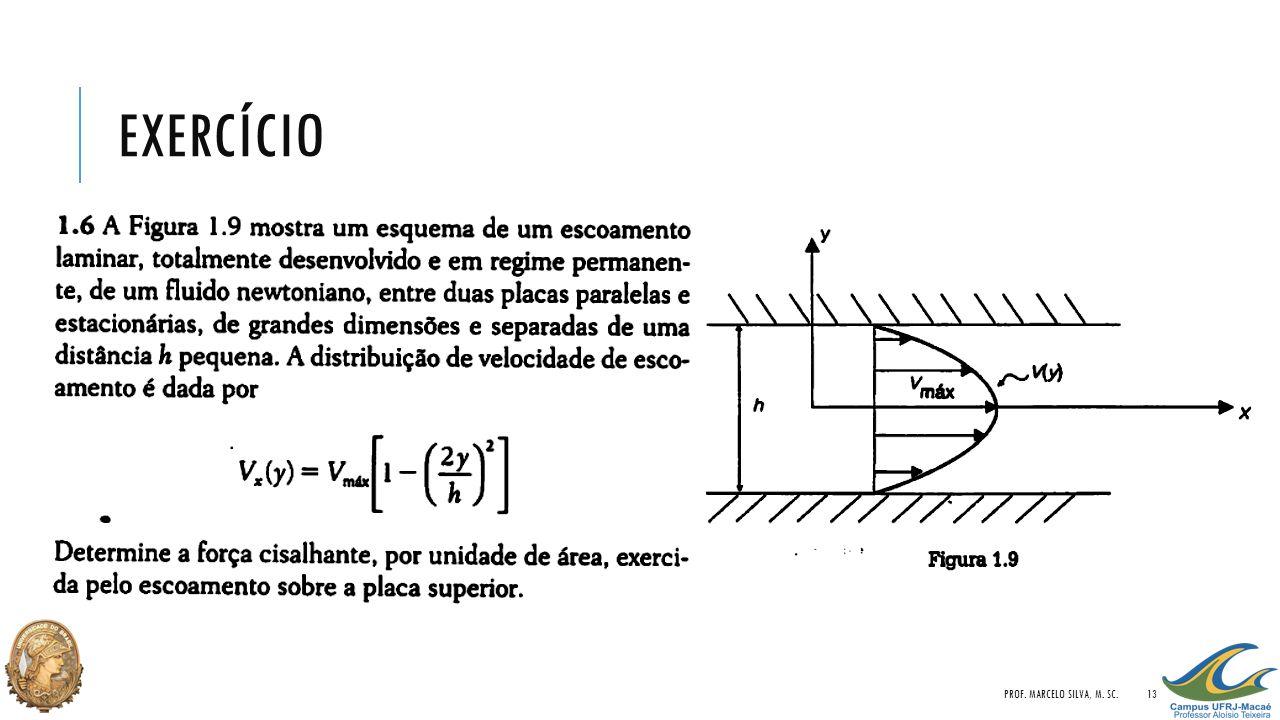 EXERCÍCIO PROF. MARCELO SILVA, M. SC.13