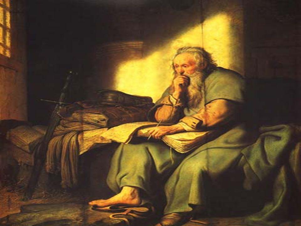Na 2ª Leitura vemos PAULO: (2Tm 4, 6-8.17-18) Também está preso...