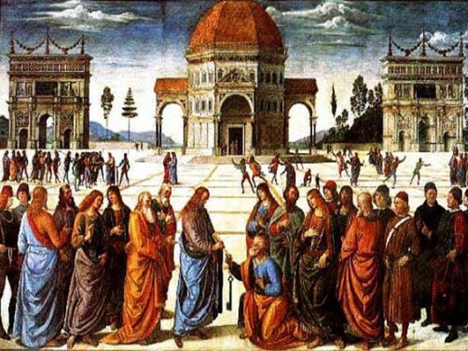 No Evangelho, Pedro faz a Profissão de Fé e recebe o Primado.
