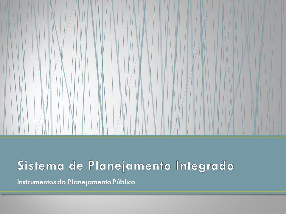 Instrumentos do Planejamento Público