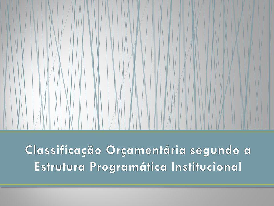 Programas ProjetosAtividades Operações Especiais