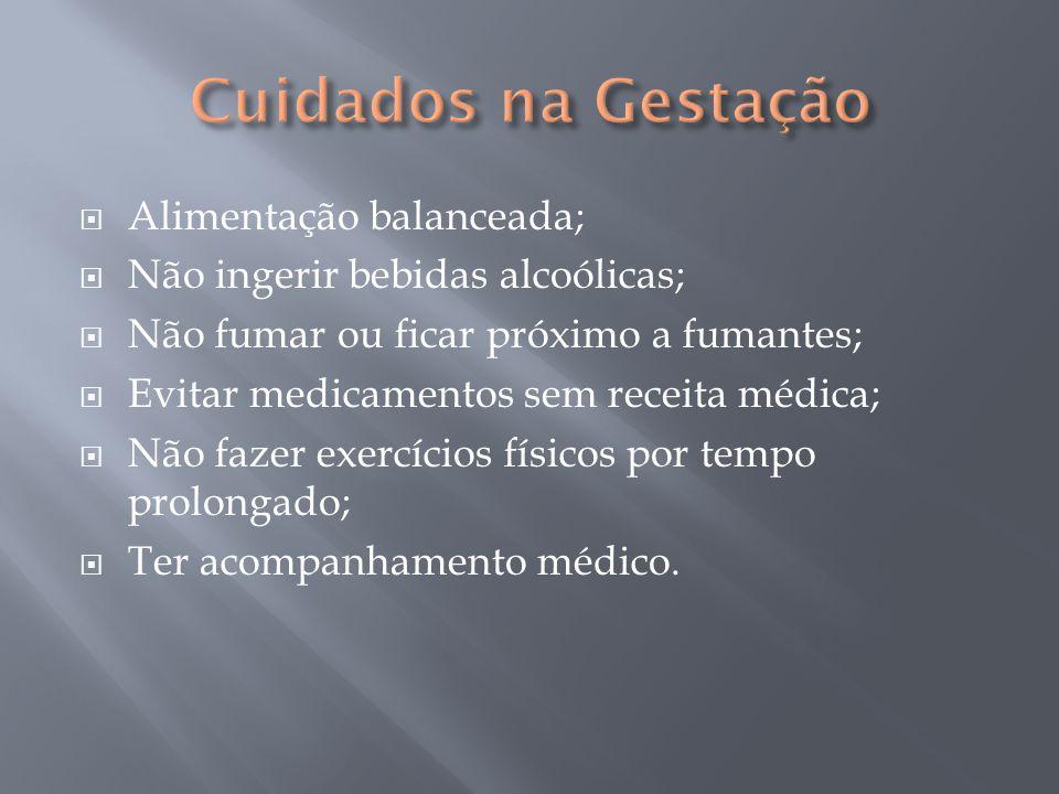  Alimentação balanceada;  Não ingerir bebidas alcoólicas;  Não fumar ou ficar próximo a fumantes;  Evitar medicamentos sem receita médica;  Não f