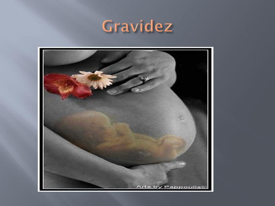  É quando o óvulo é fecundado e fixa-se na parede do útero.