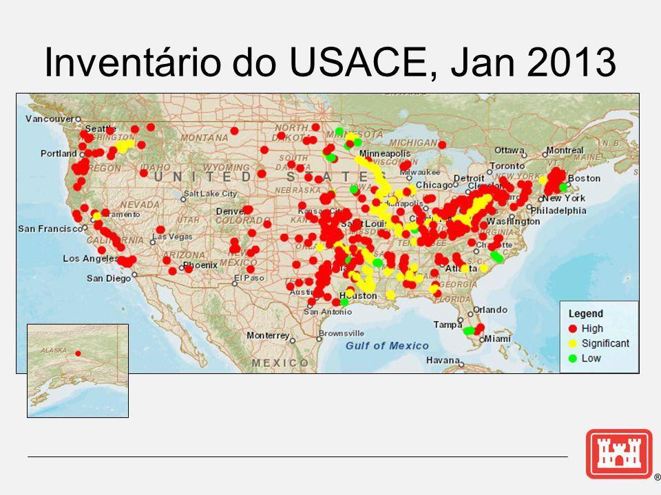 Inventário do USACE, Jan 2013