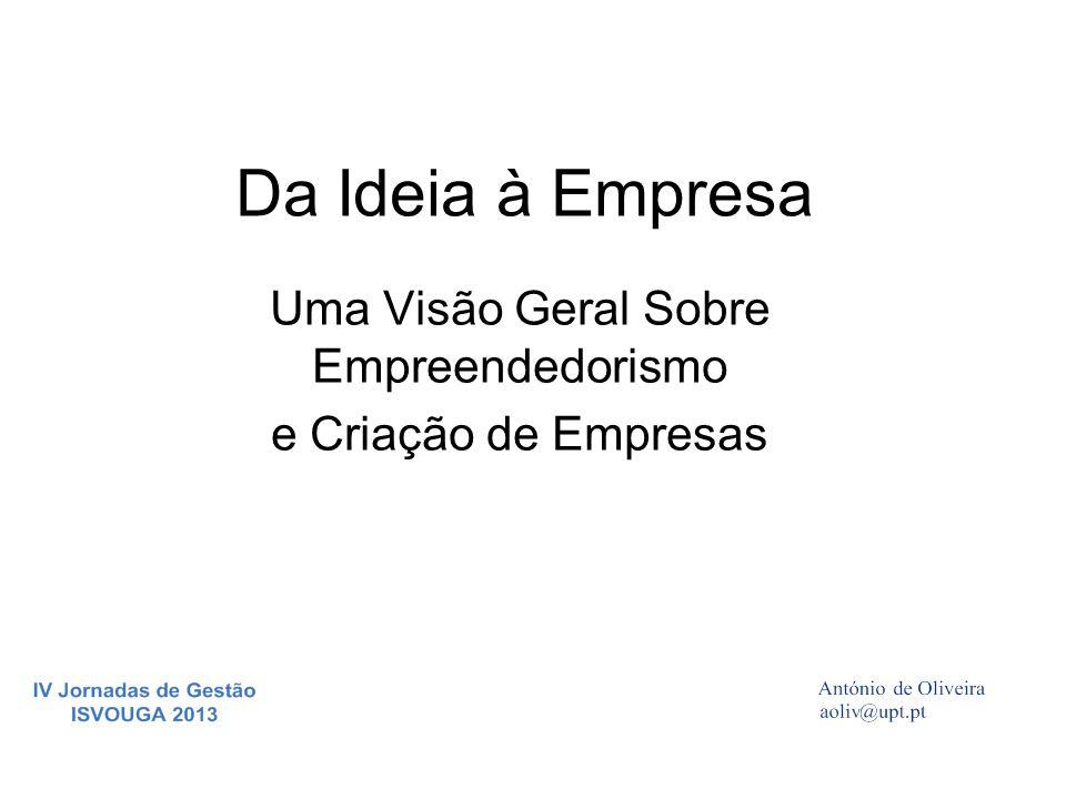 Da Ideia à Empresa Uma Visão Geral Sobre Empreendedorismo e Criação de Empresas