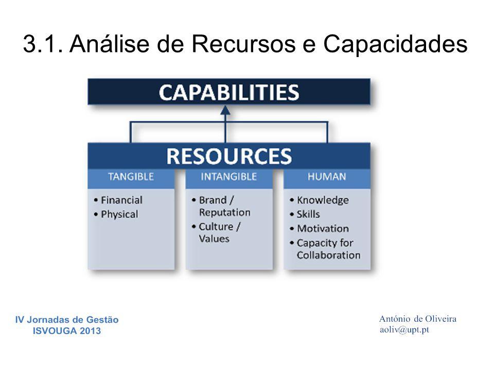 3.1. Análise de Recursos e Capacidades