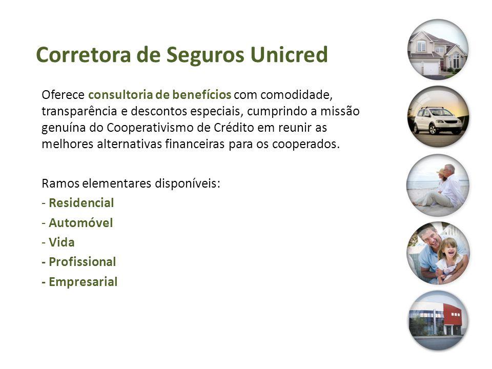 Corretora de Seguros Unicred Oferece consultoria de benefícios com comodidade, transparência e descontos especiais, cumprindo a missão genuína do Coop