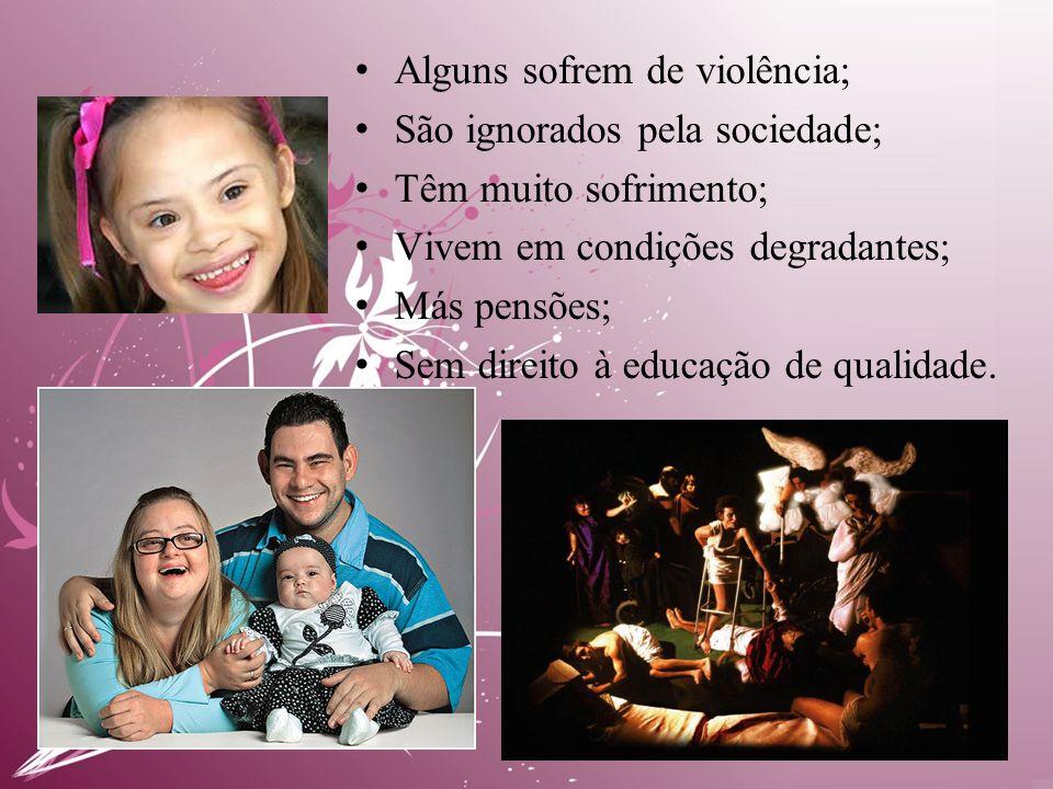 • Alguns sofrem de violência; • São ignorados pela sociedade; • Têm muito sofrimento; • Vivem em condições degradantes; • Más pensões; • Sem direito à educação de qualidade.