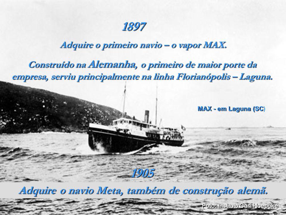 www.museunacionaldomar.com.br Cria a Fábrica de Pontas Rita Maria, para produzir pregos, grampos e arame farpado; suprindo a falta deste material para