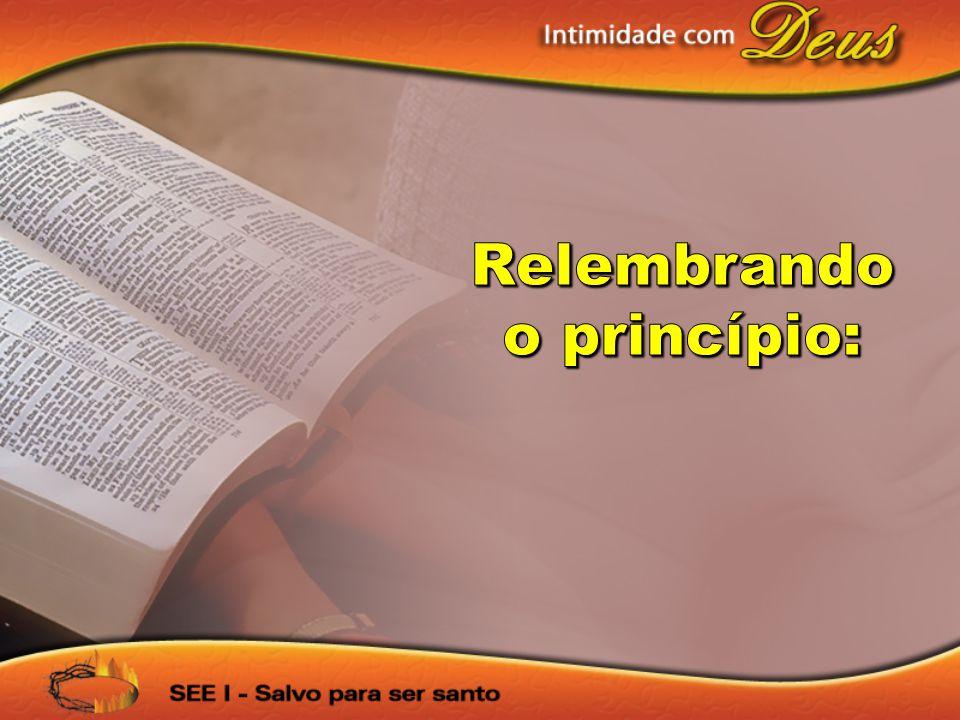 Deus tem uma programação diária para minha vida em Sua Palavra.