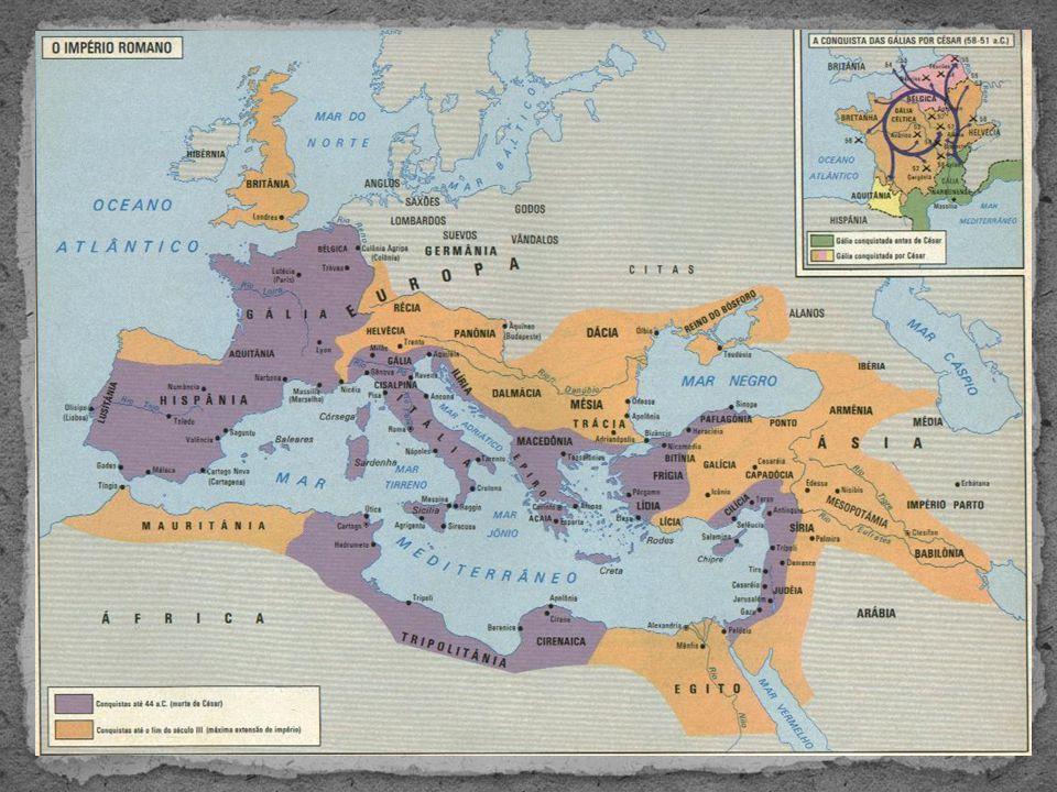 Tentativas de conter a crise  Com o fim da expansão territorial (117), o I.