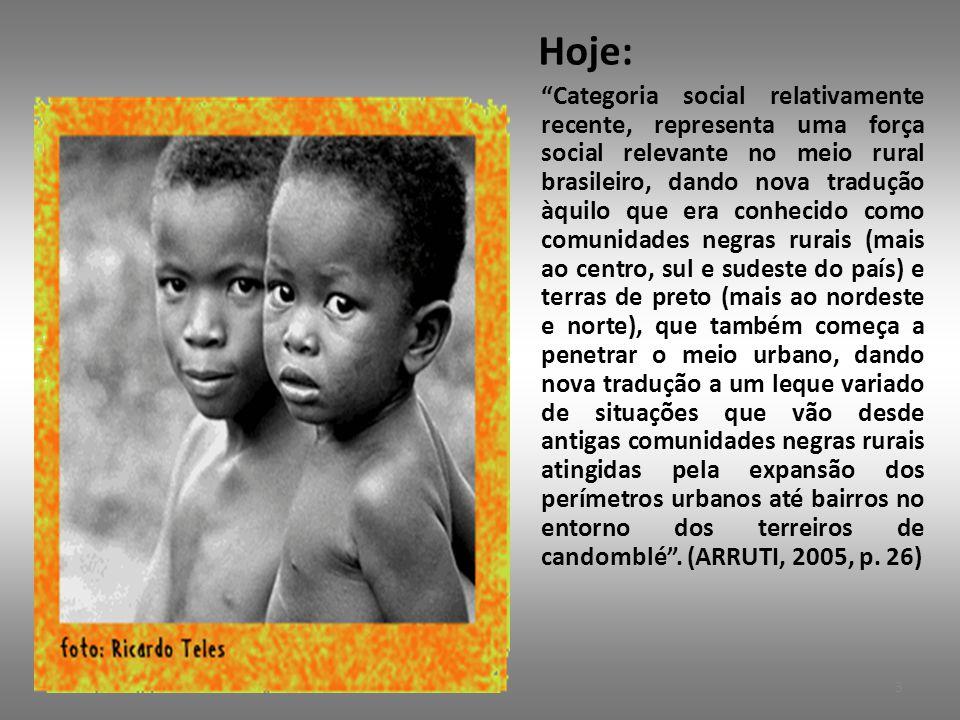 3.17.Titulação das Comunidades • Conforme reza a Constituição Federal (1988), Art.