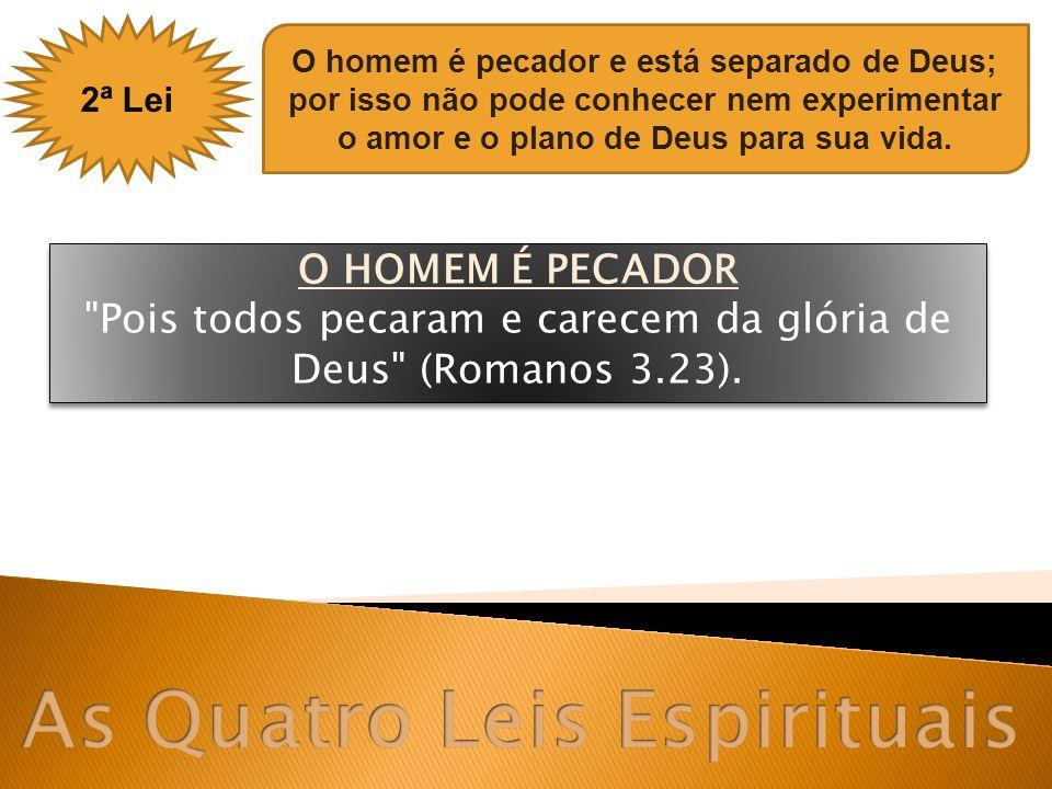 4ª Lei Precisamos receber a Jesus Cristo como Salvador e Senhor, por meio de um convite pessoal.