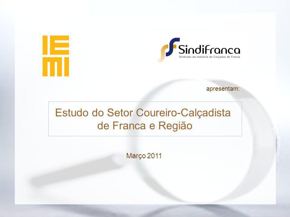 Pólo Calçadista Visão Geral do Setor Considerações Finais Censo 1984 vs. 2010 Visão Geral do Setor