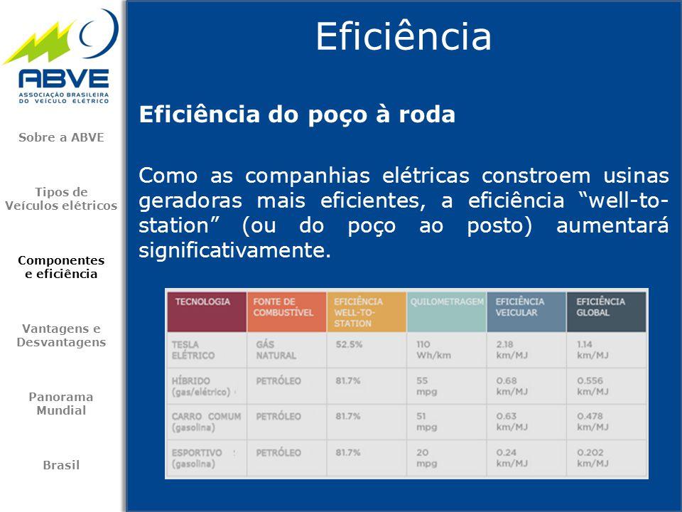 """Eficiência do poço à roda Como as companhias elétricas constroem usinas geradoras mais eficientes, a eficiência """"well-to- station"""" (ou do poço ao post"""