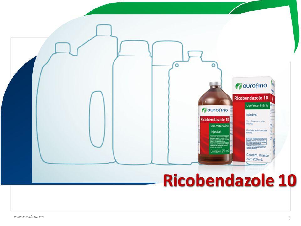 www.ourofino.com 1 Texto em fonte Trebuchet MS Ricobendazole 10