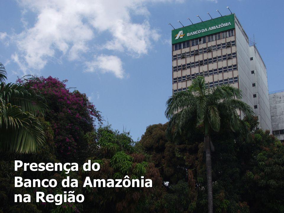 Presença do Banco da Amazônia na Região