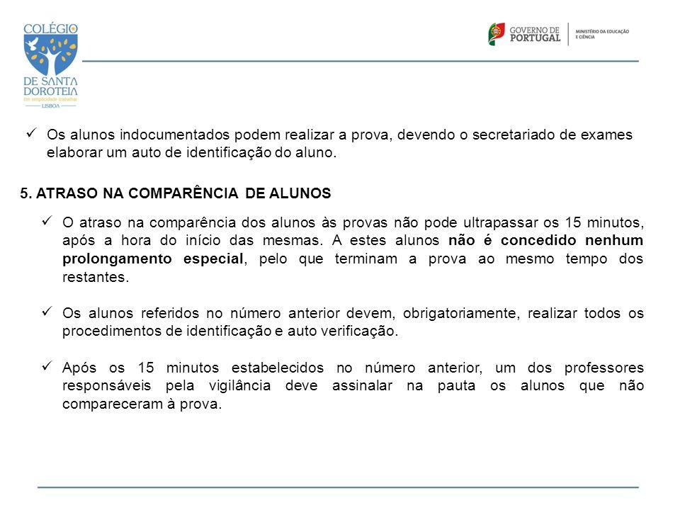 11. DESISTÊNCIA DE REALIZAÇÃO DA PROVA / IRREGULARIDADES / FRAUDES