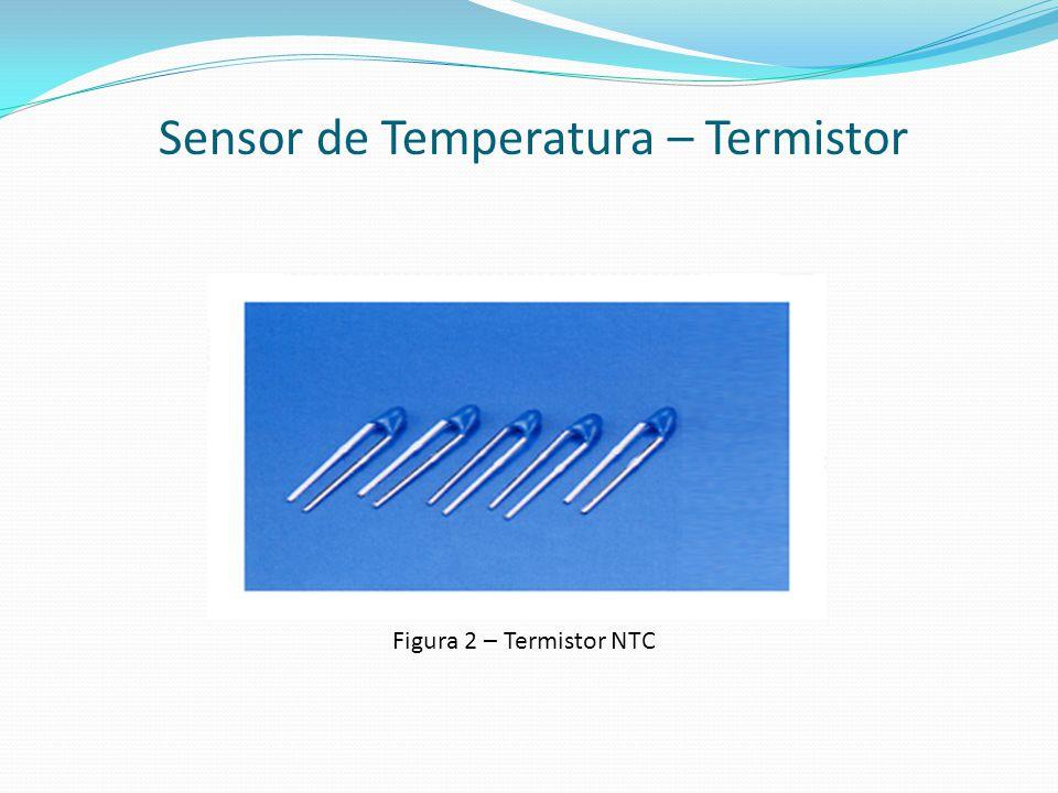 Sensor de Temperatura – Termistor Figura 2 – Termistor NTC