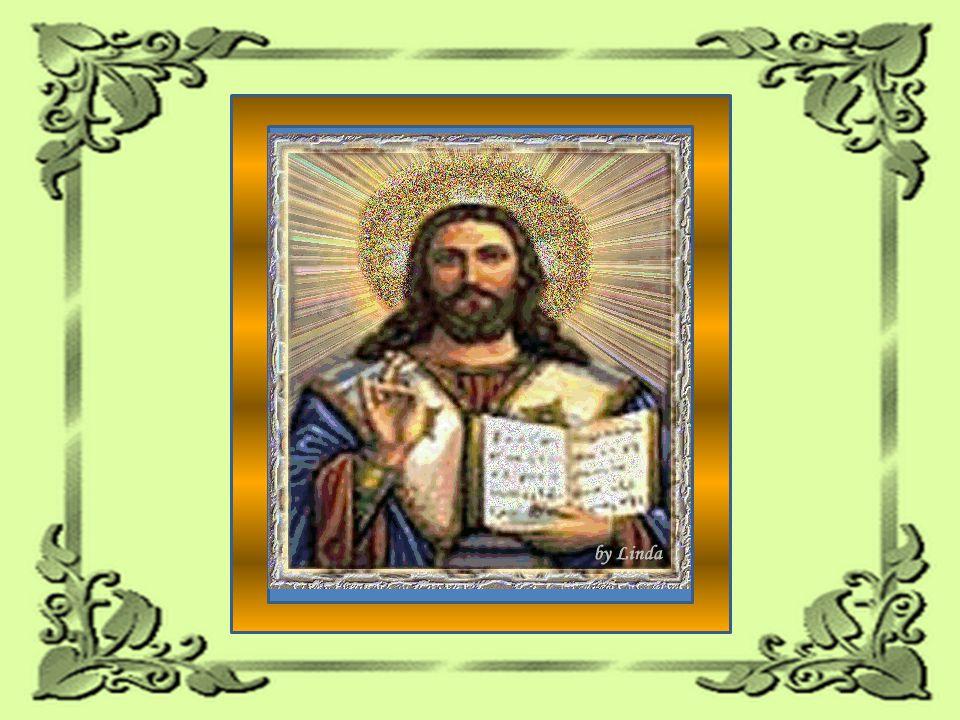 Ele está representado entre os homens pelos conceitos que deixou, por intermédio do seu Evangelho.