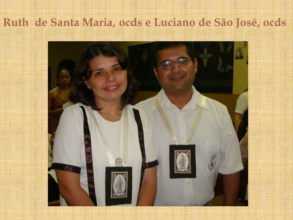 Ruth de Santa Maria, ocds e Luciano de São José, ocds