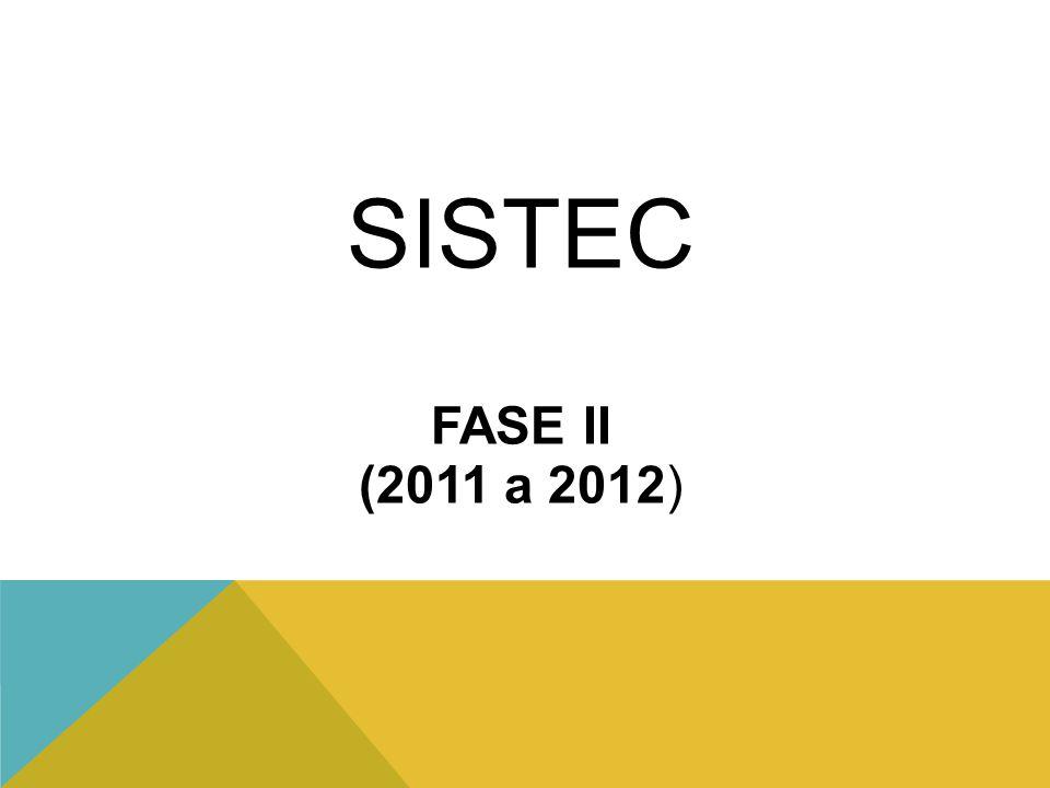 SISTEC FASE II (2011 a 2012)