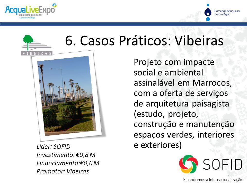 Projeto com impacte social e ambiental assinalável em Marrocos, com a oferta de serviços de arquitetura paisagista (estudo, projeto, construção e manu