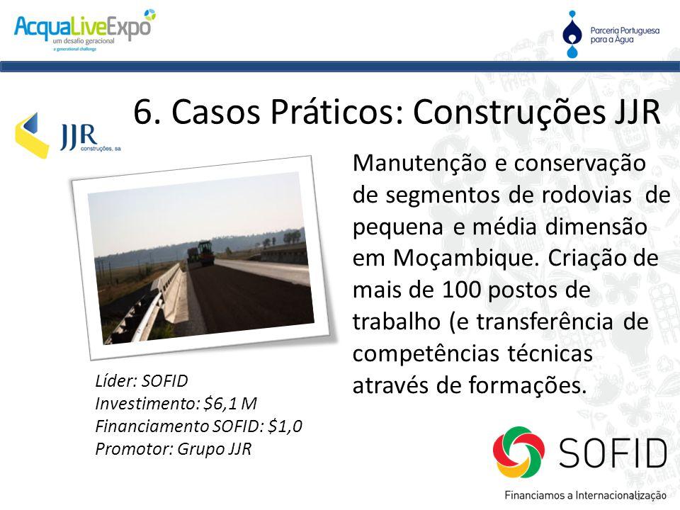 Manutenção e conservação de segmentos de rodovias de pequena e média dimensão em Moçambique. Criação de mais de 100 postos de trabalho (e transferênci