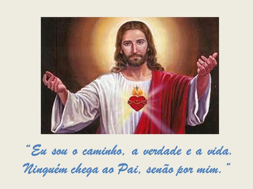 """""""Eu sou o caminho, a verdade e a vida. Ninguém chega ao Pai, senão por mim."""""""