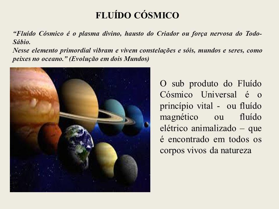 """FLUÍDO CÓSMICO """"Fluído Cósmico é o plasma divino, hausto do Criador ou força nervosa do Todo- Sábio. Nesse elemento primordial vibram e vivem constela"""