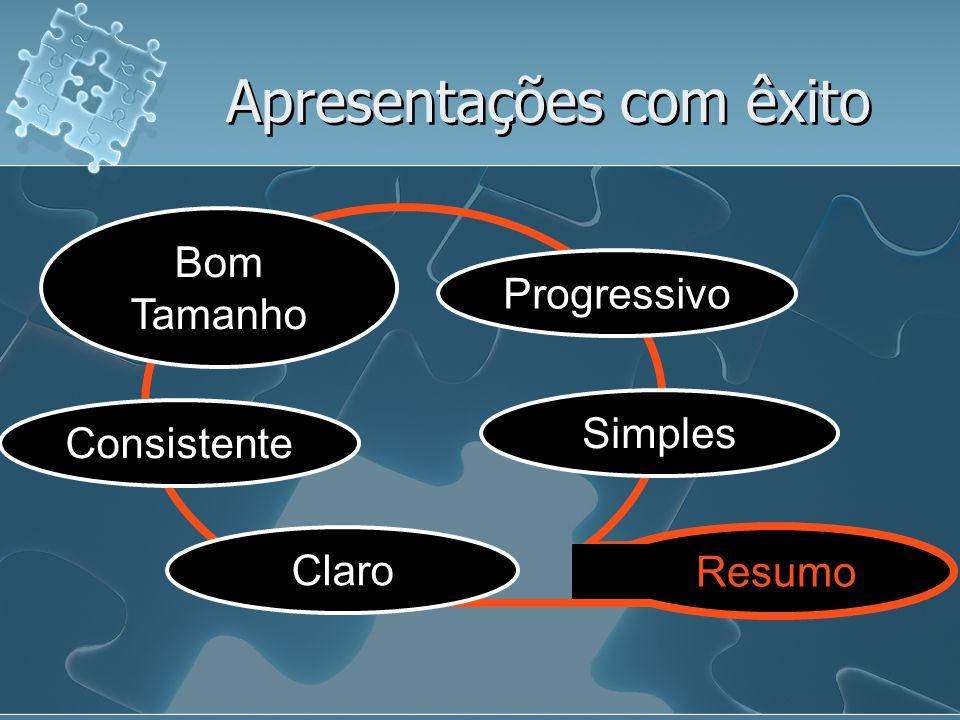 Preparação de uma apresentação (etapas) 5.Referência do tipo de apoio visual que se planeia usar.