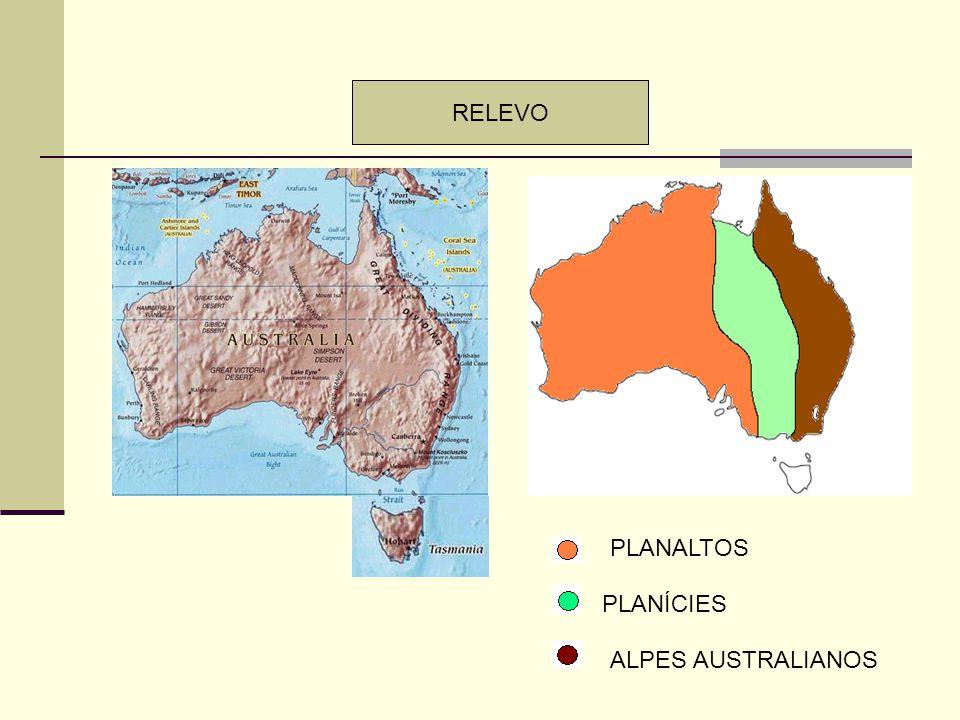 CLIMAS SEMI-ÁRIDO MEDITERRÂNEO SUBTROPICAL DESÉRTICO TROPICAL PRESENÇA DE CLIMAS ÁRIDOS – O GRANDE DESERTO AUSTRALIANO