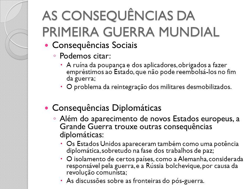  Consequências Sociais ◦ Podemos citar:  A ruína da poupança e dos aplicadores, obrigados a fazer empréstimos ao Estado, que não pode reembolsá-los