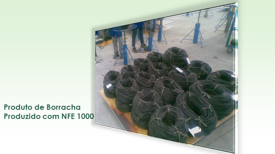 Produto de Borracha Produzido com NFE 1000 • INDIANA BORRACHA - SP