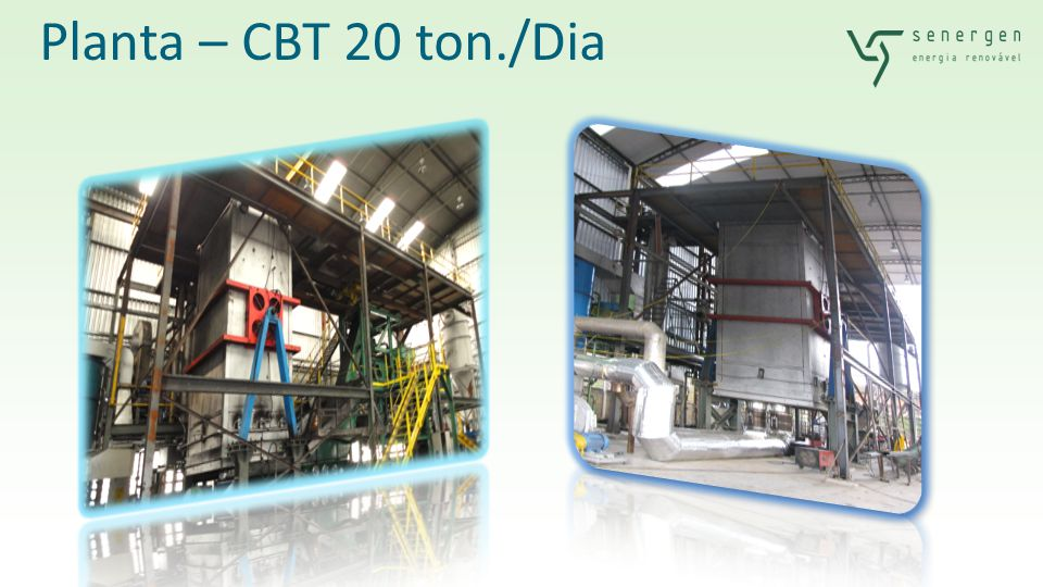 TIR a.a.50,4% Payback1,7 anos Resíduos Processados IN NATURA (t/dia) MOL1.350 Lodo370 Geração de Vapor Total (t/h)117,3 Geração de Vapor p/ Exportação (t/h)90,2 Capacidade Instalada (TBS/dia) 700 Capacidade Utilizada (todos os anos) 95% Preços de Venda Crédito de Carbono (R$/RCE)30 Vapor (R$/t)40 Recebimento do Lixo (R$/t)50 Recebimento do Lodo (R$/t)30 Financeiro CAPEX TOTAL R$95.708.732 Retrofit a cada 8 anos7.822.110 FINANCIAMENTO80% EQUITY R$19.141.746 TAXA DE JUROS a.a.8,7% PRAZO TOTAL15 anos CARÊNCIA2 anos Receita Bruta (R$/ano)60.359.666 Despesas Operacionais26.169.488 Geração de Vapor com Lixo Urbano e Lodo de Esgoto