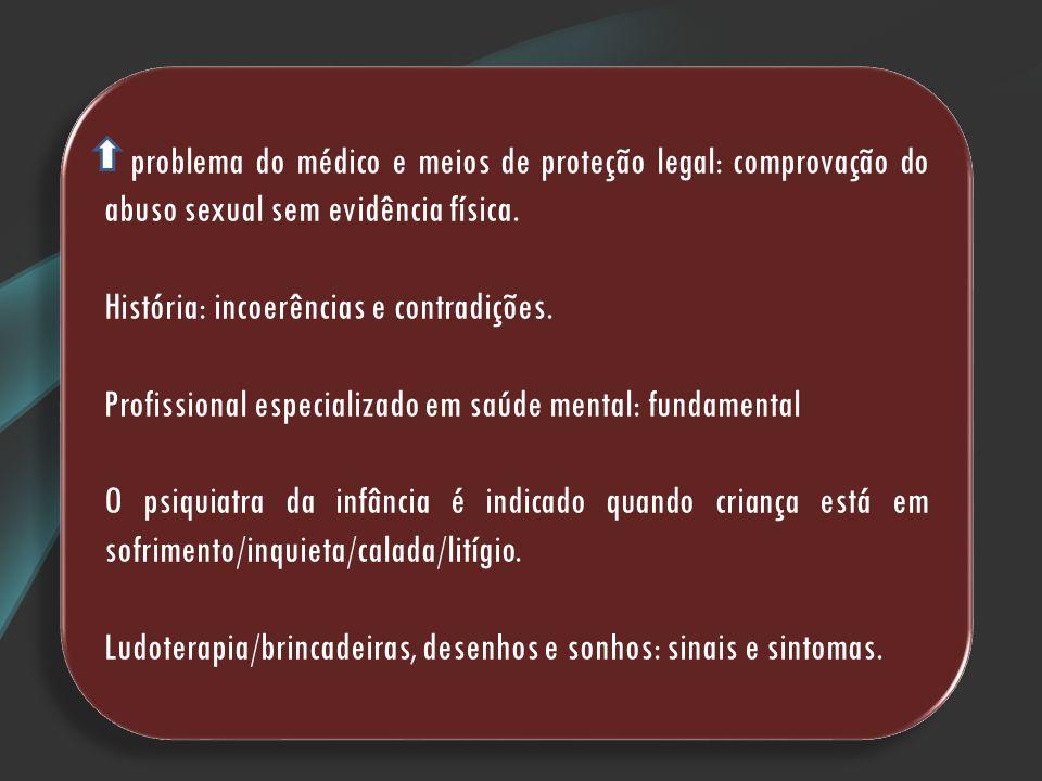 Referências NUNAN, A.; VILHENA, J.Abuso sexual de crianças.
