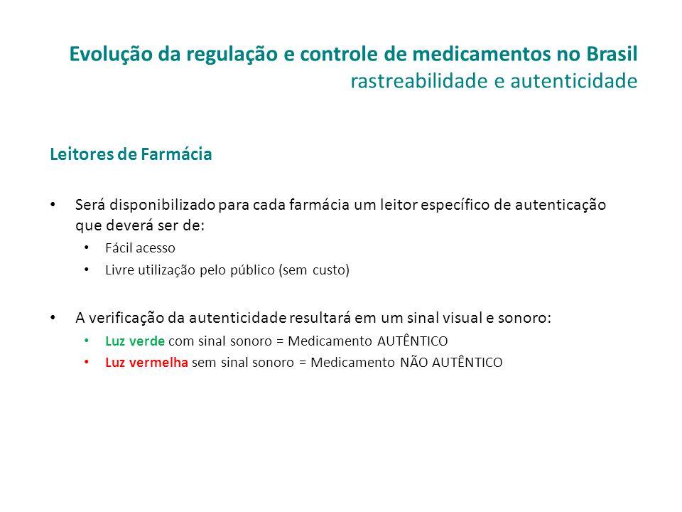 Leitores de Farmácia • Será disponibilizado para cada farmácia um leitor específico de autenticação que deverá ser de: • Fácil acesso • Livre utilizaç