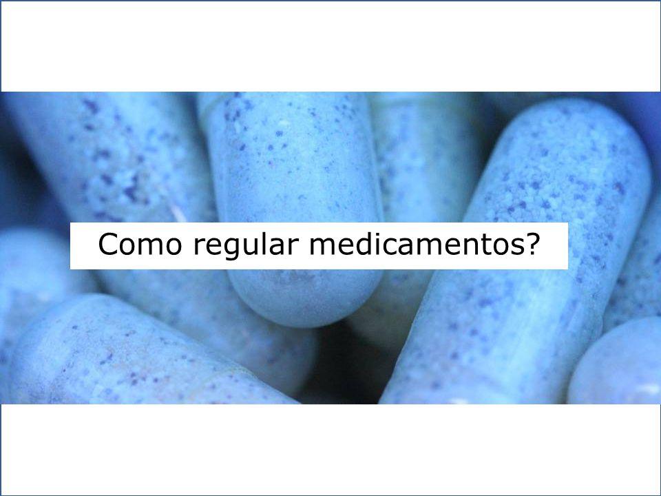 Como regular medicamentos?
